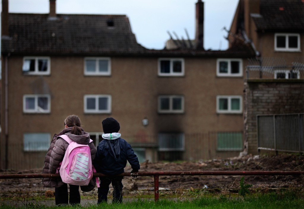 100,000 children in Scotland have been pushed into poverty by coalition austerity